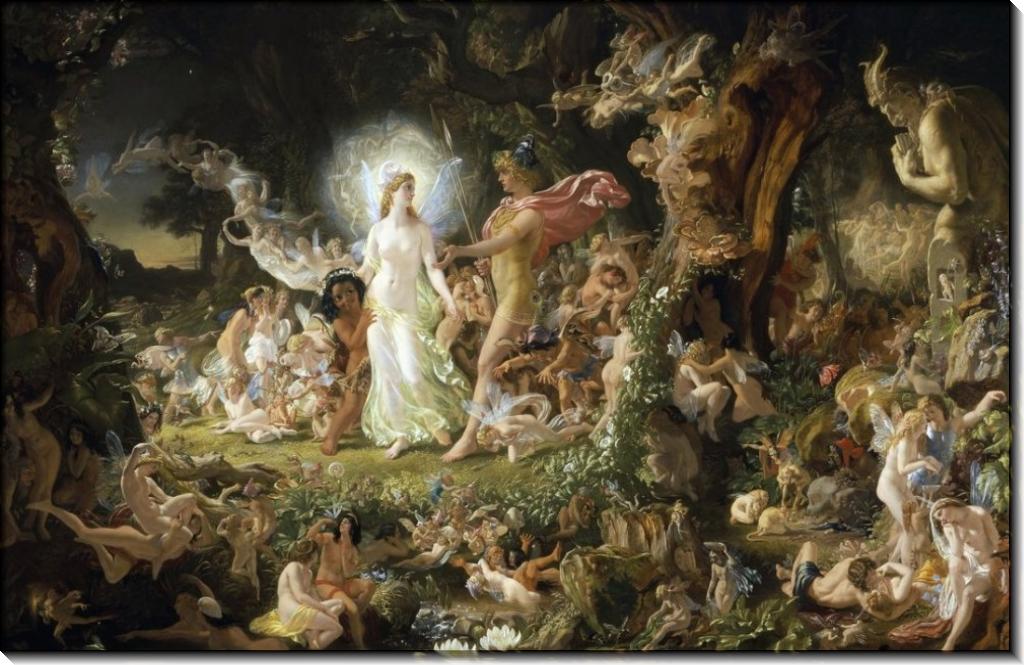 Ссора Оберона и Титании - Патон, Джозеф Ноэл