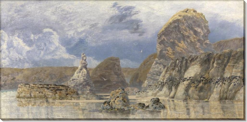 Скалы у мелководья, Гауэр - Бретт, Джон
