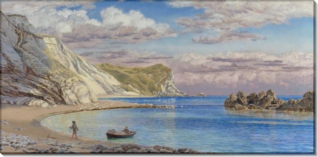 Прибрежный пейзаж близ Дорсета - Бретт, Джон