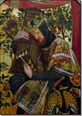 Царь Давид - Россетти, Данте Габриэль