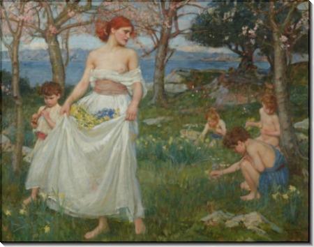 Песня весны - Уотерхаус, Джон Уильям