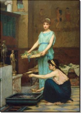 Боги домашнего очага - Уотерхаус, Джон Уильям