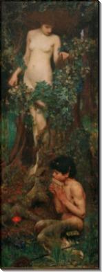 Гамадриада  (Нимфа деревьев) - Уотерхаус, Джон Уильям
