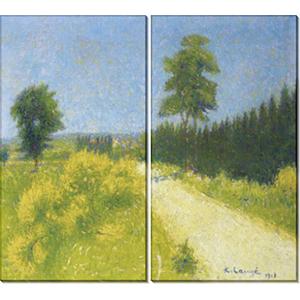 Картины из двух частей